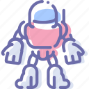 astronaut, robot, space, suit icon
