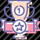 achievement, cup, prize, trophy