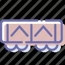 railroad, transport, vehicle, wagon