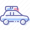 car, police, transport