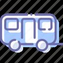 car, trailer, travel, wagon