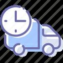 car, delivery, logistics, rush icon
