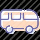 car, minivan, van, vehicle icon