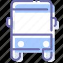autobus, bus, sign