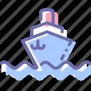 ship, sign, steamship, vessel