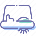 marine, pedalo, transport icon