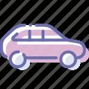 car, hatchback, transport, vehicle icon
