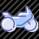 motorbike, motorcycle, transport, vehicle icon