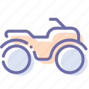 atv, safari, vehicle icon