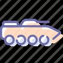 apc, infantry, military, tank icon