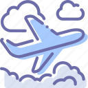 flight, plane, takeoff, travel