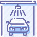 auto, car, service, wash icon