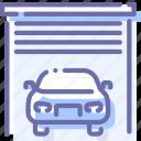 car, garage, transport