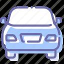 auto, car, front, transport