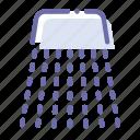 mode, rinse, rinsing, washing icon