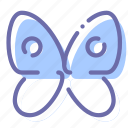 butterfly, delicate, sensitive, washing icon