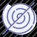 centrifuge, no, nospin, spinning icon