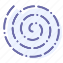 centrifuge, delicate, easy, spin icon