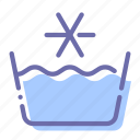 mode, select, temperature, washing icon