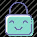 baby, children, lock, mode icon