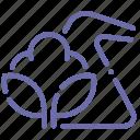 cotton, load, mixed, synthetics icon