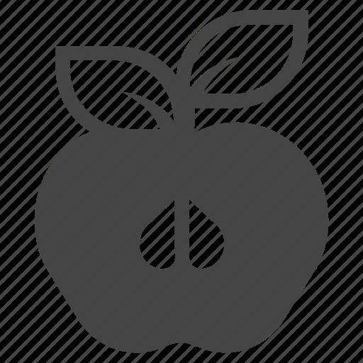 apple, diet, eat, food, fruit, organic, vitamin icon