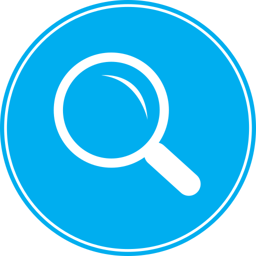 explore, find, magnifier, magnifying, magnifying glass, research, science, search, view, zoom icon