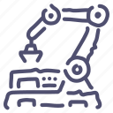 factory, robot icon