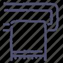 bathroom, heating, interior, rail, towel