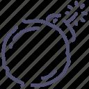 bomb, bonus, present, weapon icon