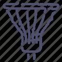 halogen, lamp, light icon