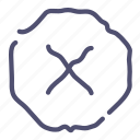 ban, delete, denied, lock, sign icon