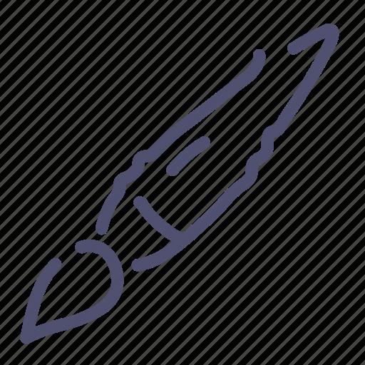 Brush, paintbrush, tassel, tool icon - Download on Iconfinder