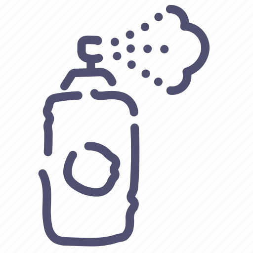 airbrush, deodorant, spray, tool icon