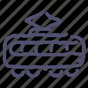 railroad, tramway, transport, vehicle