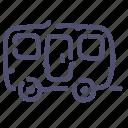 car, trailer, transport, travel