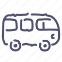 car, combi, van, vehicle icon