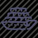 cargo, ship, shipping, tanker icon