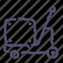 forklift, logistic, pump, pumptruck icon