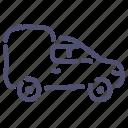car, delivery, van, vehicle