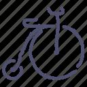 bicycle, retro, sport, transport