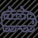 electric, railway, suburban, train icon