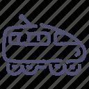 express, railway, tgv, train icon