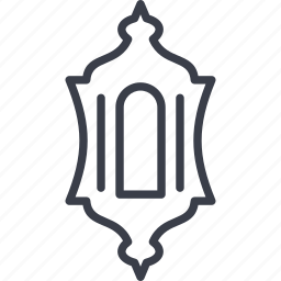 decoration, element, ornament, united arab emirates icon