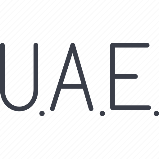 a country, emirates, u.a.e., united arab emirates icon