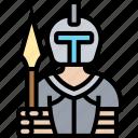 knight, warrior, armor, battle, medieval