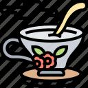 tea, milk, drink, beverage, cup