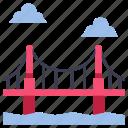 architecture, bridge, gate, golden, landmark, usa