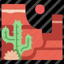 america, canyon, grand, landscape, nature, rock, travel icon