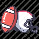 american, football, helmet, professional, sport, uniform icon